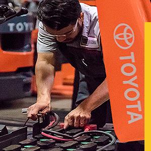 reparación de autoelevadores Toyota